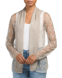Made In Italy Lace Cardigan