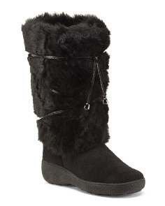 Made In Italy Apres Faux Fur Ski Boots