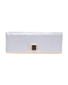 Twist Lock Shimmer Clutch