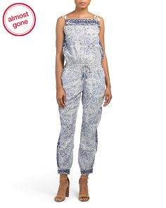 Afton Silk Jumpsuit