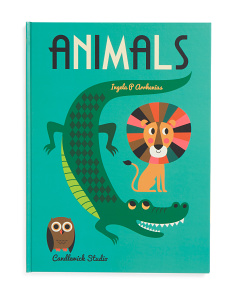 Animals Oversized Children's Book