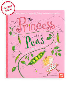 Princess And The Peas Childrens Book