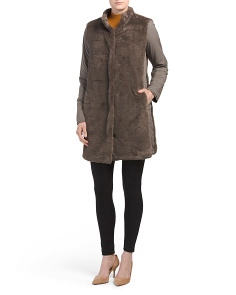 Reversible Berit Faux Fur Coat