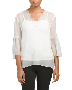 Everette Silk Blouse