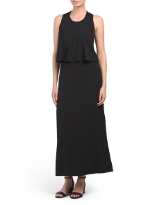 Popover Maxi Dress