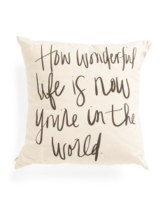Made In USA 18x18 Pillow