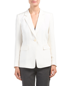 Petite Sandwashed Silk Stelly Jacket