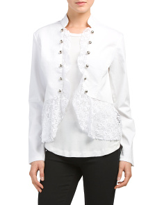 Lace Motto Jacket