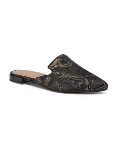 Fairy Brocade Mules