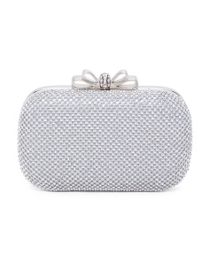 Rhinestone Ring Clutch