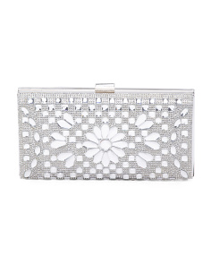 Sparkle Clutch With Rhinestones