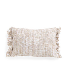 Made In India 14x20 Fringed Pillow