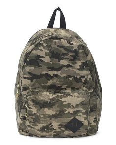 Metallic Camo Backpack
