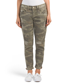 Easy Fit Camouflage Jeans