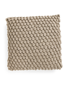 20x20 Textured Knitted Pillow