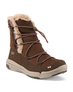 Wide Water Repellant Cold Weather Booties