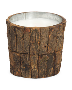 16oz Wood Citronella Candle