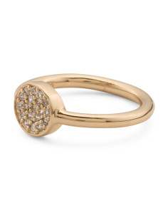 Cade Pave Cubic Zirconia Ring