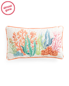 14x24 Coral Reef Pillow