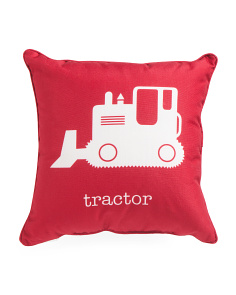 Kids 17x17 Tractor Pillow