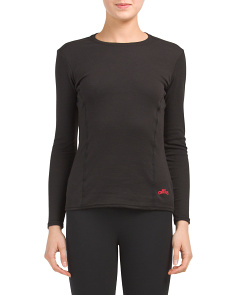 Made In USA Alpaca Base Layer Top