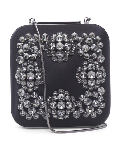 Made In Italy Jeweled Clutch