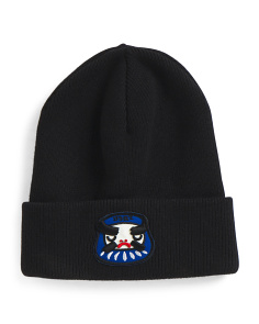 Made In Italy Wool Angry Mascot Beanie