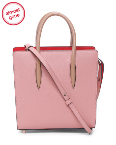 Made In Italy Paloma Leather Tote