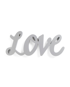 Love Script Word Cut Out