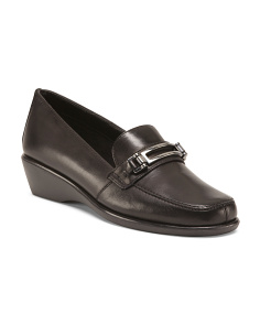 Leather Keeper Loafers