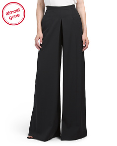 Made In Italy Wide Leg Pants
