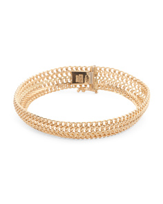 Made In Italy 18k Gold Sadusa Bracelet