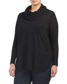 Plus Merino Wool Pullover Sweater