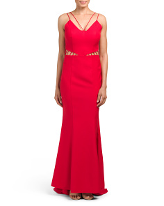 Ashley Sleeveless Gown