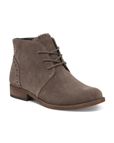 Suede Lace Up Chukka Boots