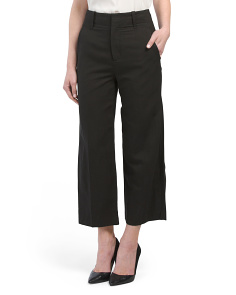 Linen High Waisted Wide Pants