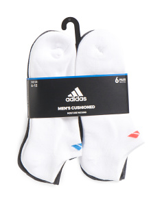 6pk No Show Core Socks