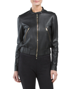 Buckley Leather Moto Jacket