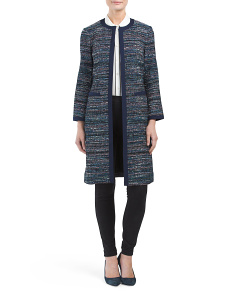 Nalda Tweed Coat