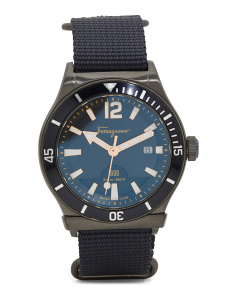 Men's Swiss Made 1898 Sport Nato Strap Watch