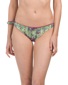 Made In Colombia Crystalline Bikini Bottom