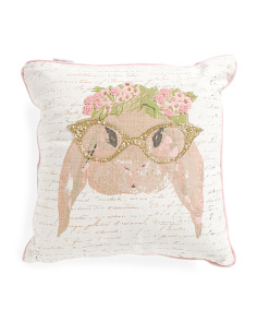 Kids Made In India 18x18 Miss Winnie Pillow