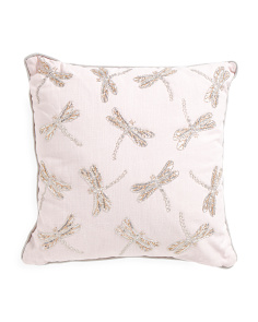 Kids Made In India 20x20 Dragonfly Pillow