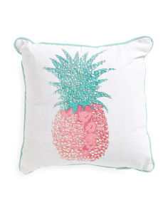 Kids Made In India 16x16 Pineapple Pillow