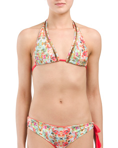 Made In Colombia Crystalline Swim Top