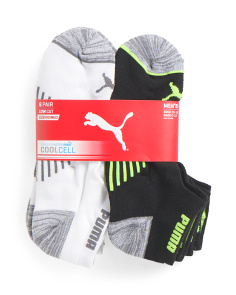 6pk Low Cut Socks