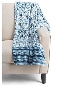 Stratton Plush Throw