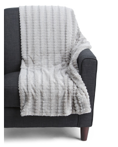 Unity Faux Fur Throw