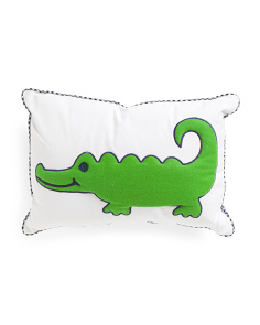 Kids 14x20 Gator Pillow