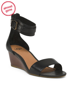 Ankle Strap Comfort Leather Sandals